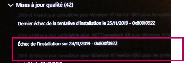 2019-11-28 13_39_31-Windows 10 Famille 1903 et suivants + drivers Asus _ L'atelier ASUS.png