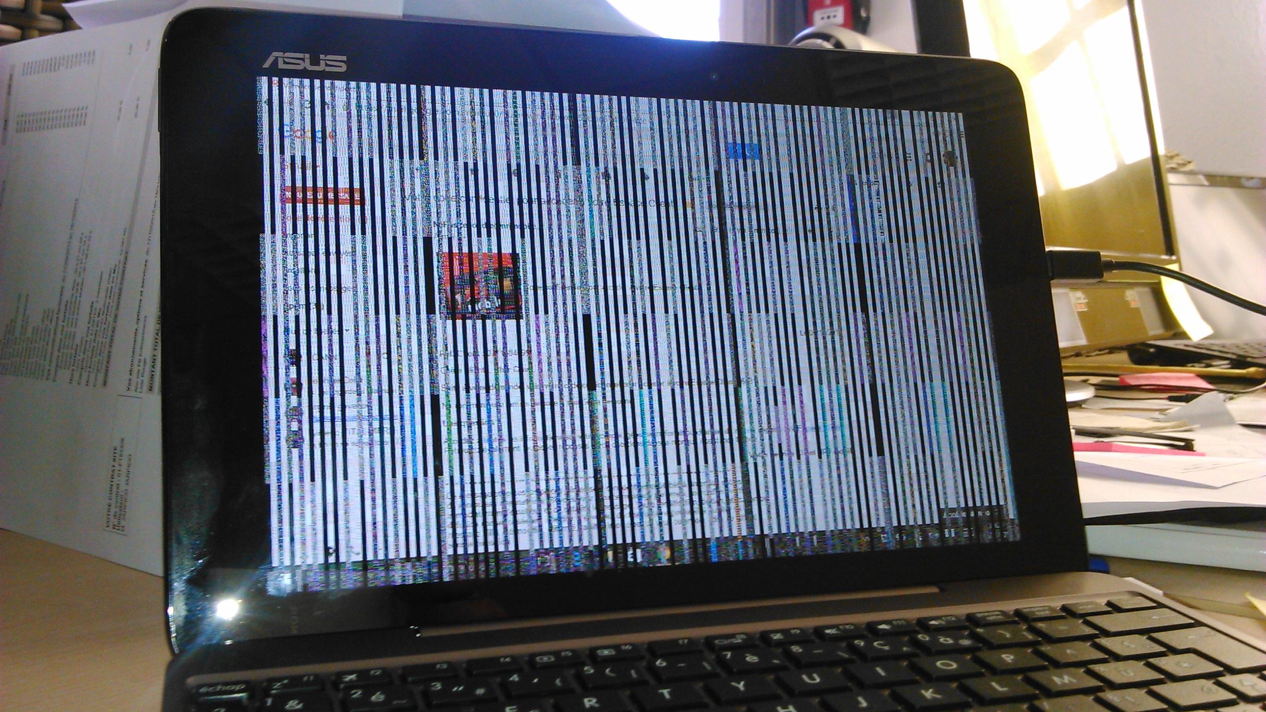 R solu blocage asus t100ha fu040t le forum des for Photo ecran tablette