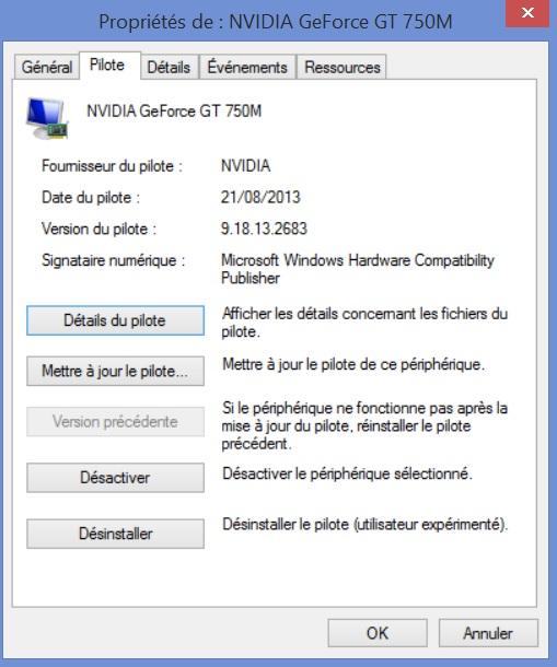 pilotes d'installation Windows Vista manquant de l'ordinateur portable