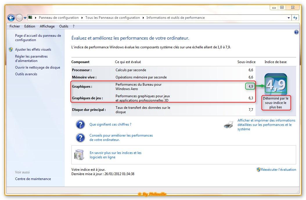 Appel aux possesseurs du n76vm v2g t5107v le forum des - Performance du bureau pour windows aero ...
