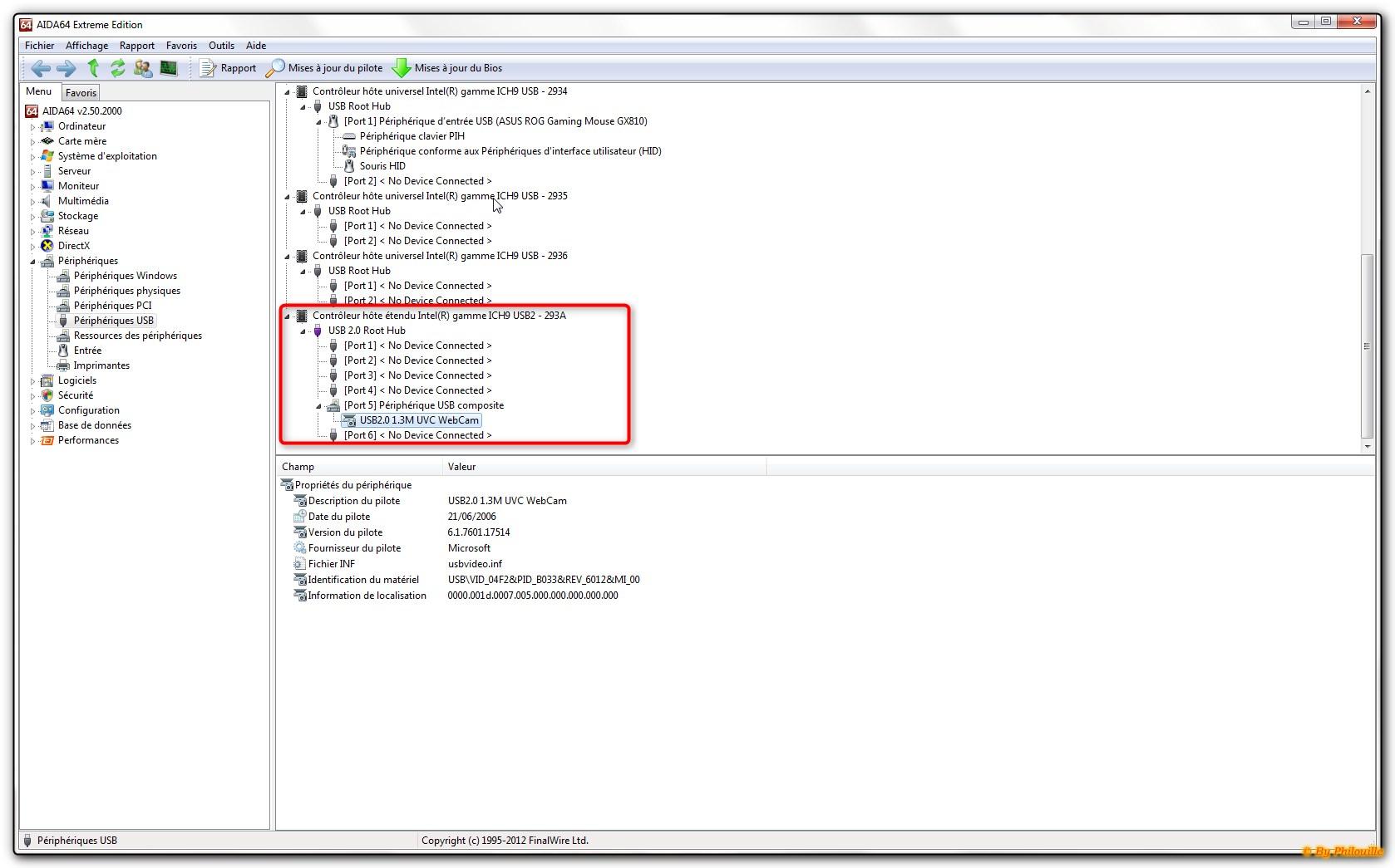 R solu programation directe du gestionnaire de - Port usb ne reconnait pas peripheriques ...