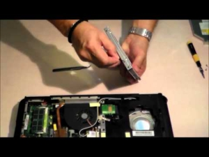 Asus K50IJ adding 2nd HDD / SSD using DVD / optical drive bay