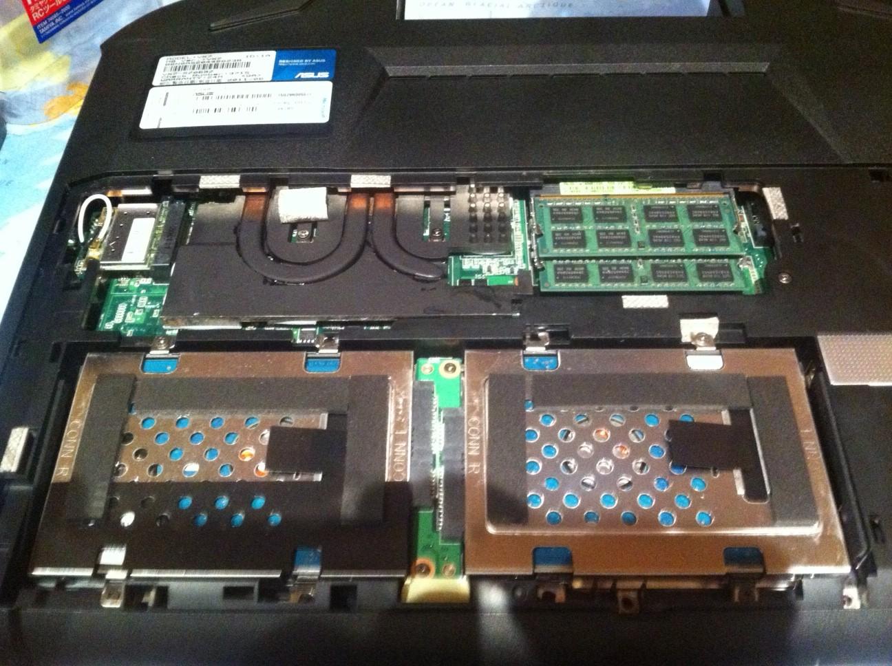 changer carte graphique pc portable asus Changer carte graphique Asus VX7 | L'atelier ASUS